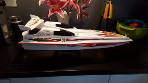 7-10-16 Remote control boat