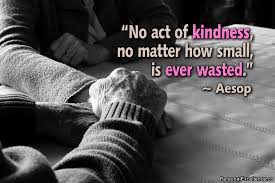 27-01-16 Kindness is never wasted