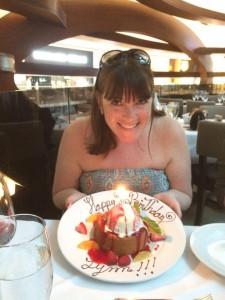 21-4-16 birthday cake at mastros