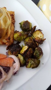 21-4-16 cooked brussel sprouts