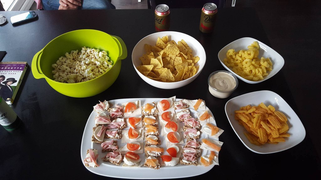 18-5-16 Snacks and canapes