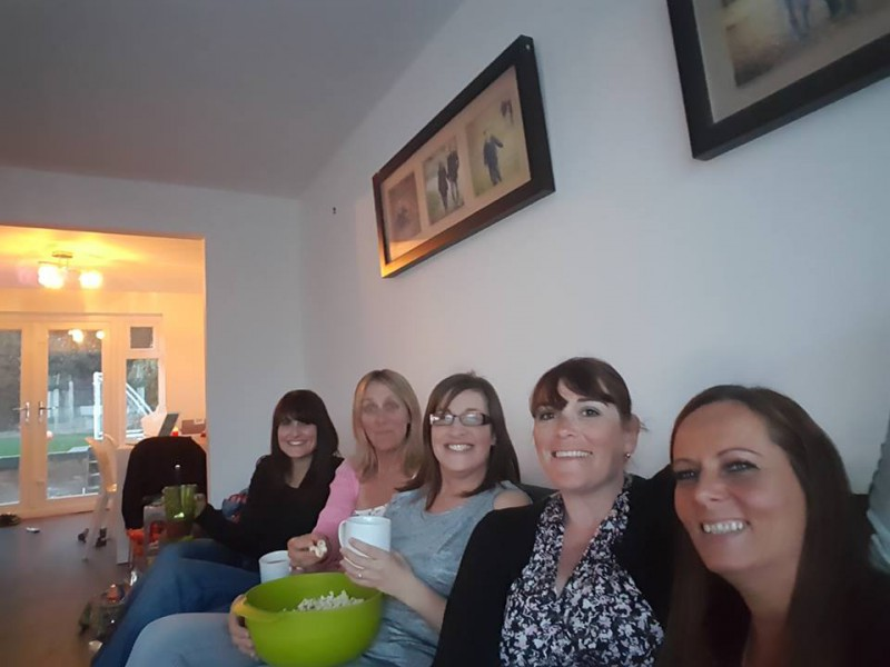 18-5-16 The girls A night at the Movies
