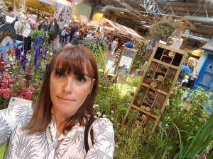 22-6-16 RSPB garden selfie - BBC Good food Live