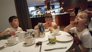 6-6-16 Breakfast at hotel - Copy