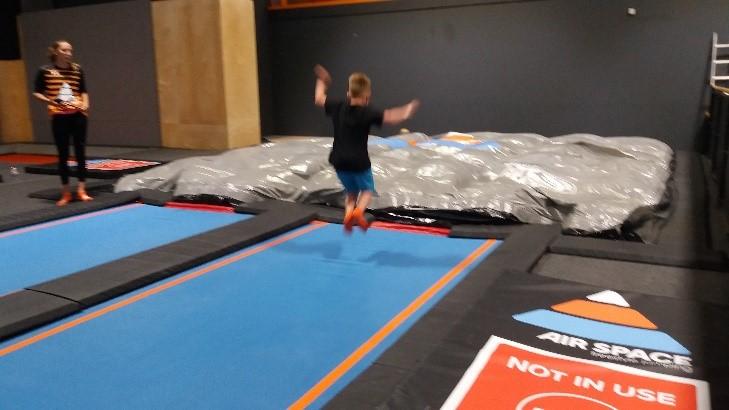 bouncing mad at air space trampoline park stevenage. Black Bedroom Furniture Sets. Home Design Ideas
