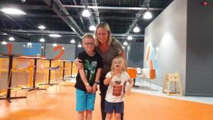 19-8-16 Air space trampoline Stevenage family