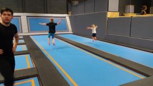 19-8-16 Air space trampoline stevenage long bounce