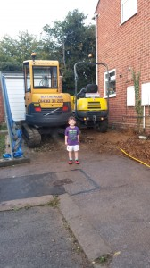 The Extension Blog Part 3 – Work commences!