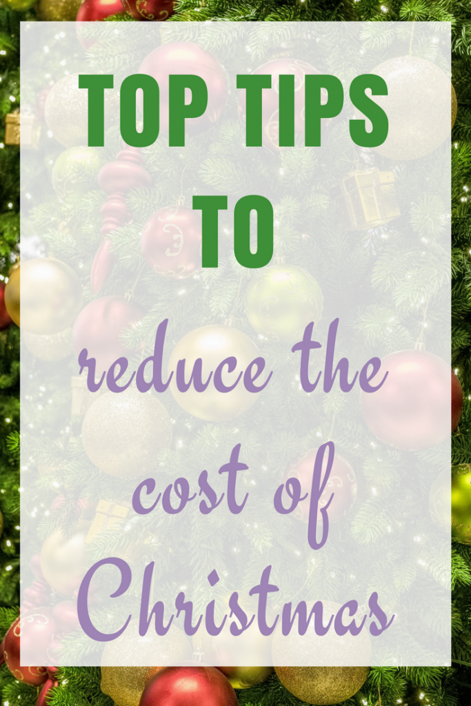 Top Tips to reduce the cost of Christmas