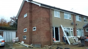 Project Extension is complete!! The building surveyor form the council signed it off today:-)
