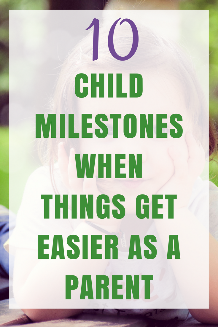 When Do Things Get Easier as a  Parent?