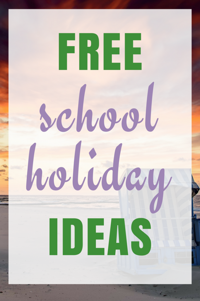 Free Ideas to keep the kids amused during the holidays
