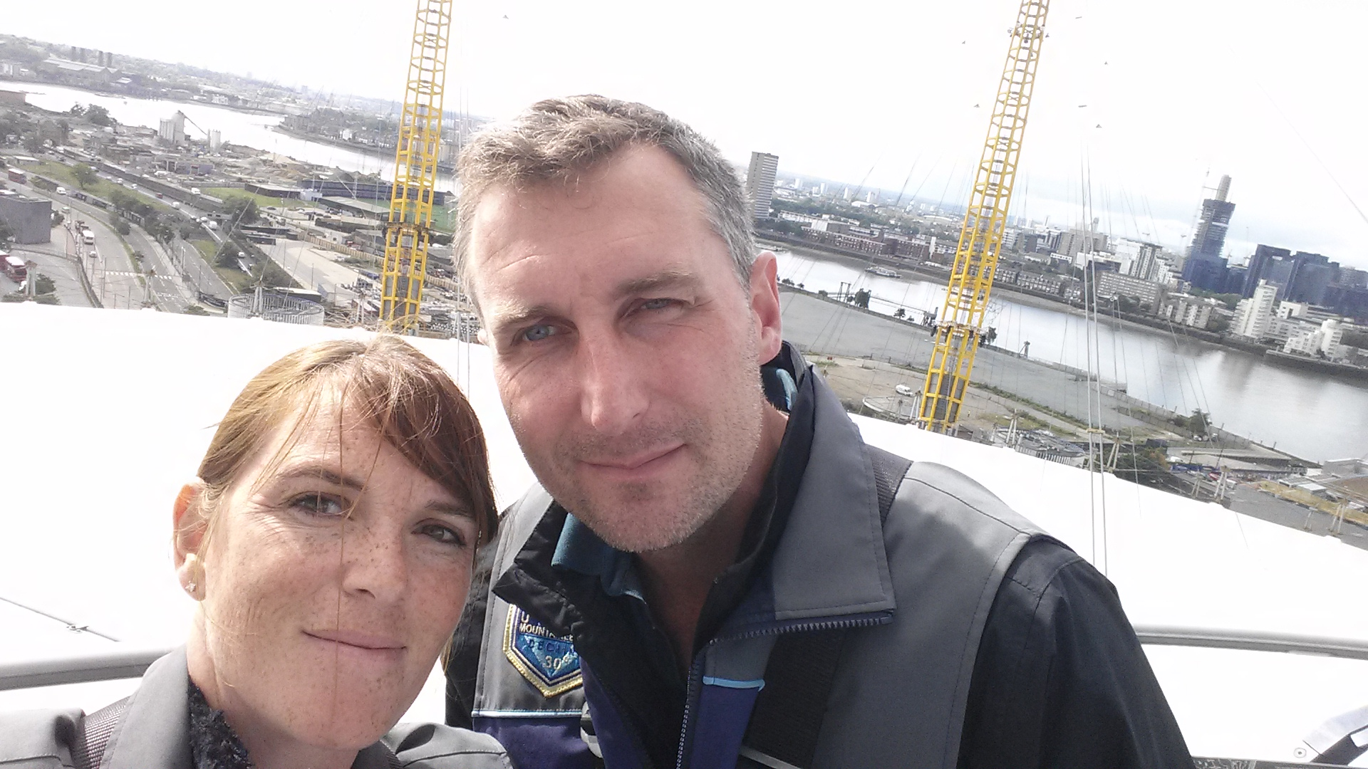 A fun day out climbing 'Up at The O2' & Wagamama for Lunch