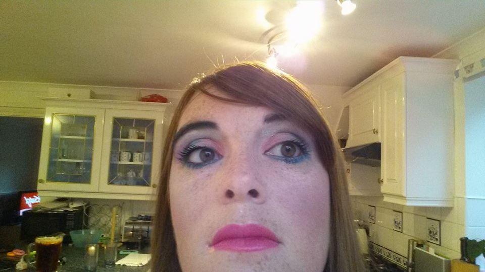 21-9-15 80's makeup
