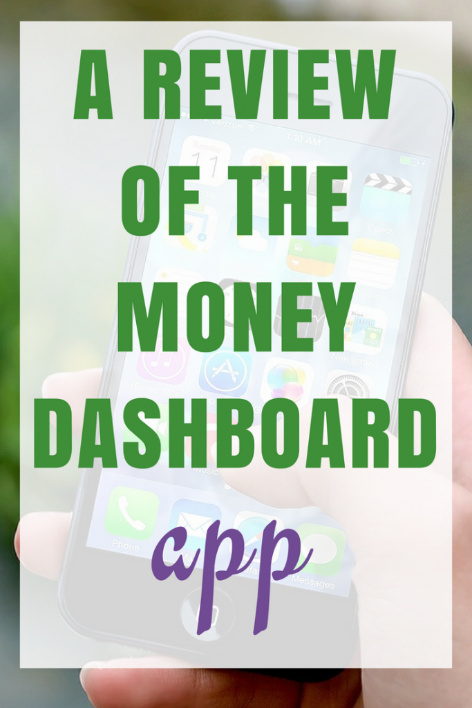 A Review of the Money Dashboard App
