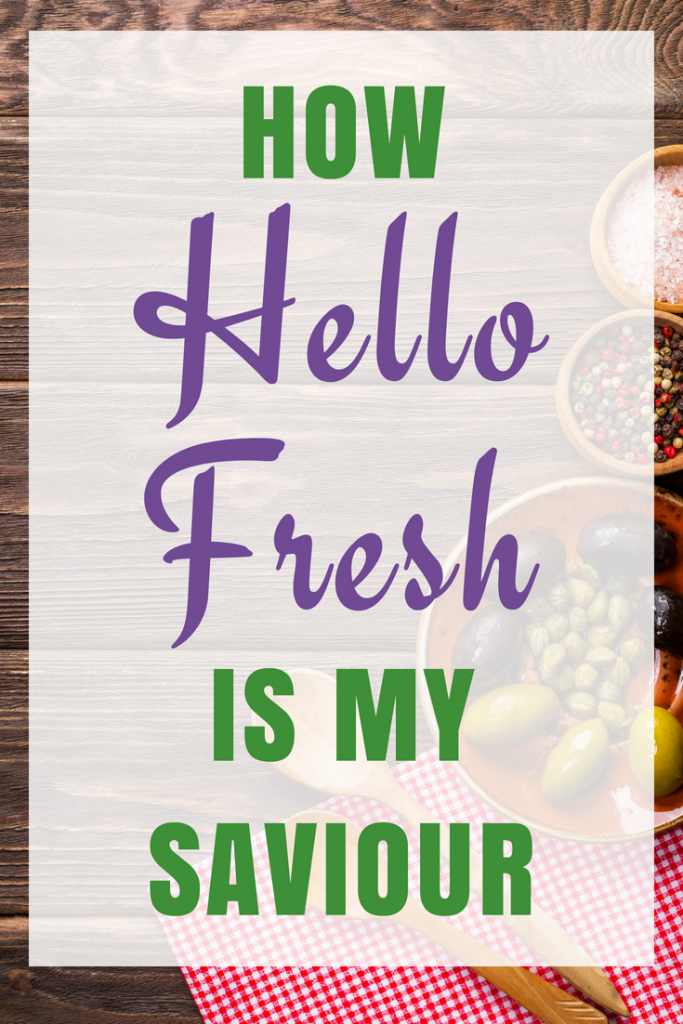 Hello Fresh Recipe Box - My saviour for cooking dinner
