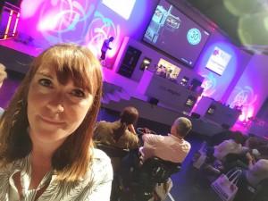 22-6-16 Stage selfie - BBC Good food Live