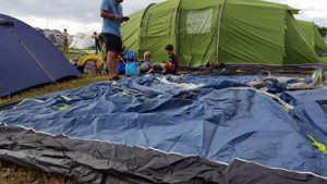 6-8-16 Standon calling inflatable tent