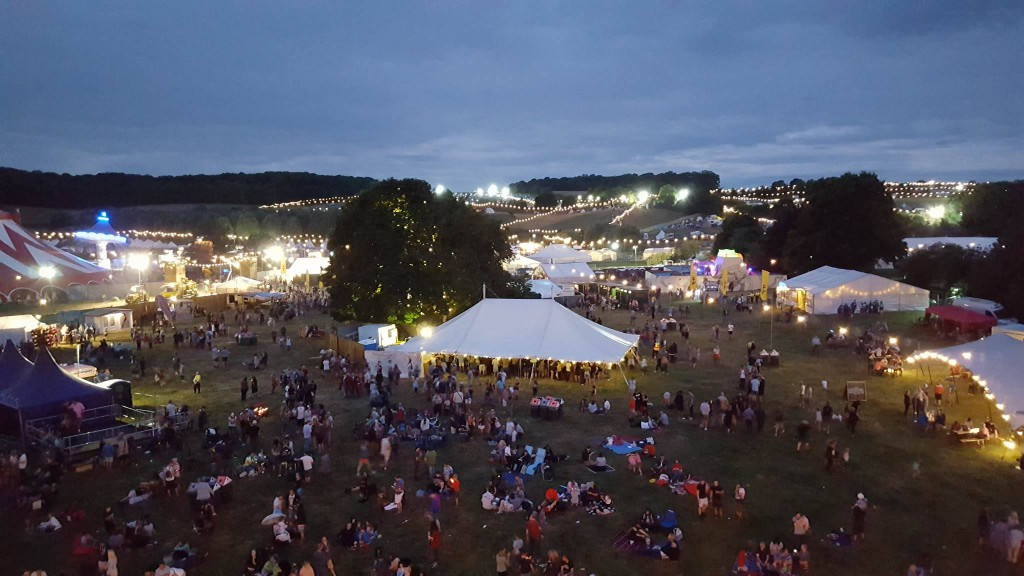 6-8-16 Standon calling nightshot of festival