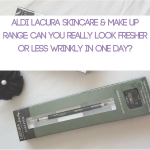 Aldi Lacura Skincare & Make Up Range: Can You Really Look Fresher or Less Wrinkly in One Day?