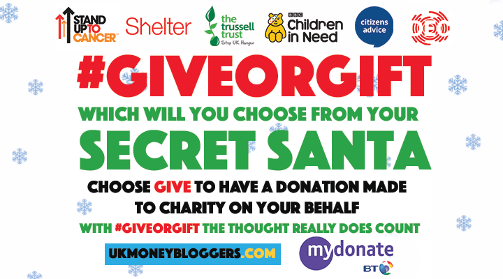 Secret Santa- £5 of tat? Take part in the #giftorgive campaign