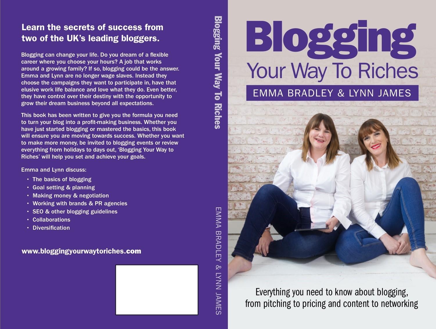 Bookcoverbloggingyourwaytoriches