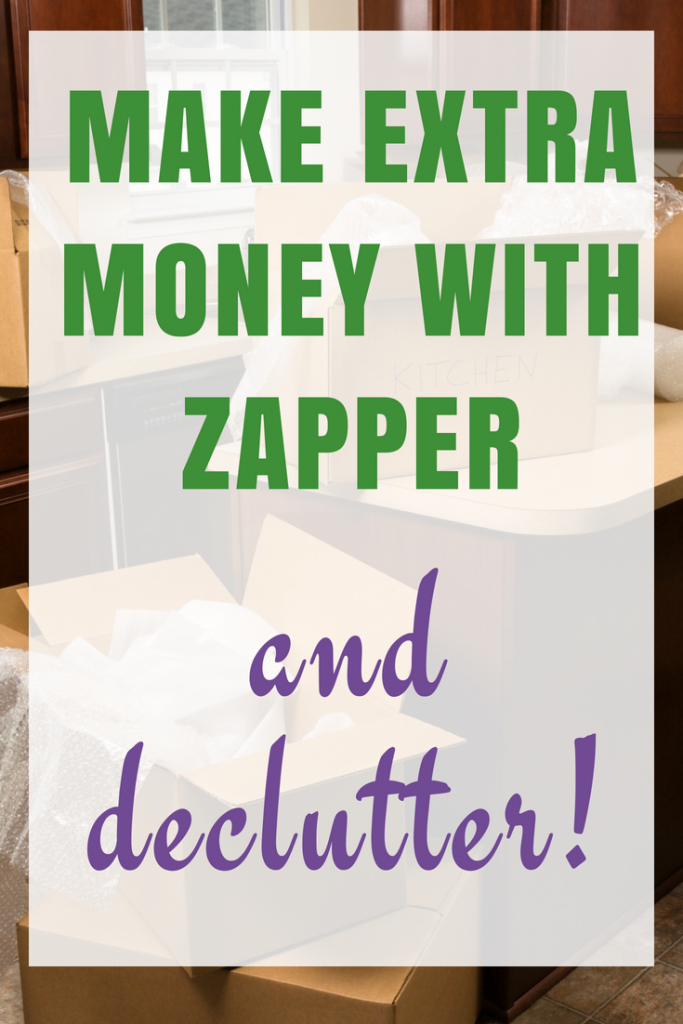 Decluttering my house and making money with Zapper
