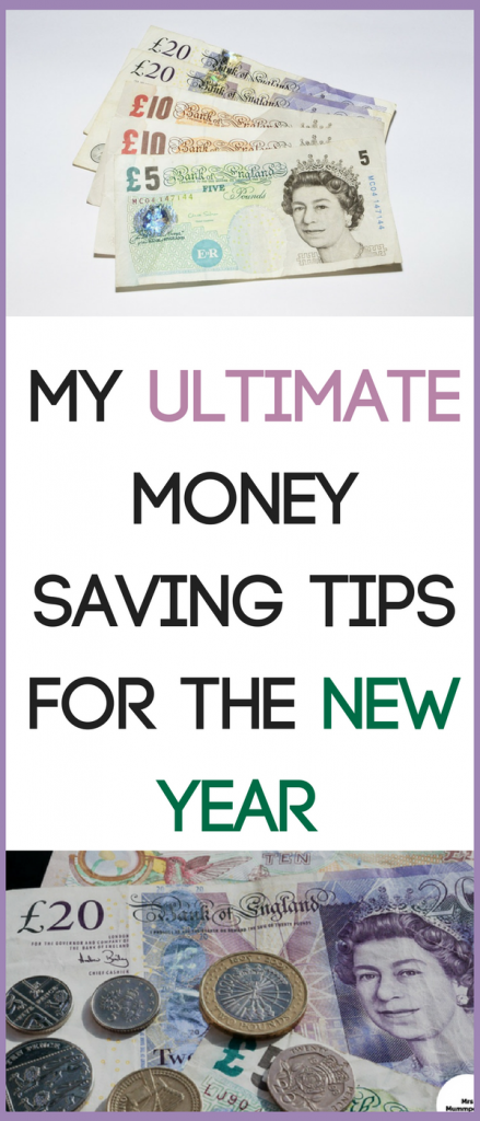 My ultimate money saving tips for the New Year. #NewYearBudget #MoneySaving