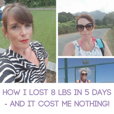 How I Lost 8 lbs in 5 Days – and It Cost Me Nothing!