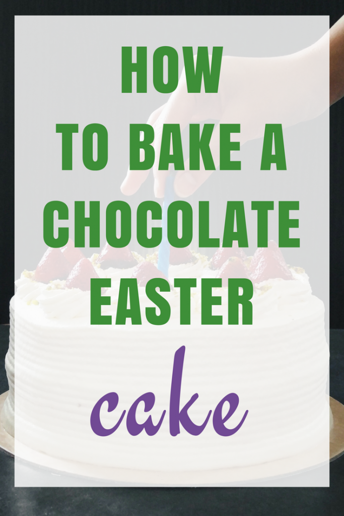 How to Bake Chocolate Easter cake using Aldi ingredients
