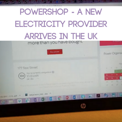 Powershop – A New Electricity Provider Arrives in the UK