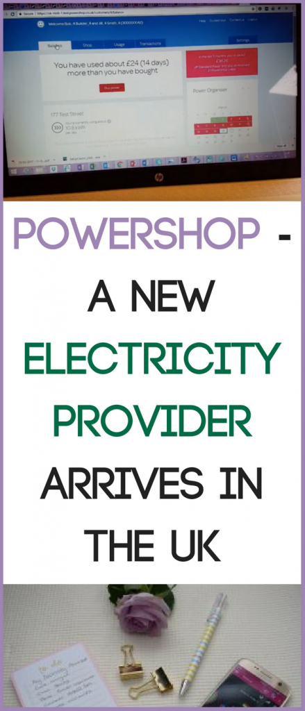 Have you tried Powershop? A new electricity provider arrives in the UK and could save you money. #SavingMoney #Budget