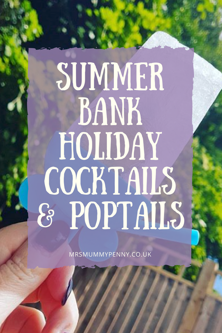 Sunny Bank Holiday Aldi Cocktails and Boozy Poptails