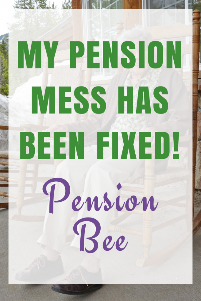 My Pension Mess has been Fixed thanks to PensionBee.
