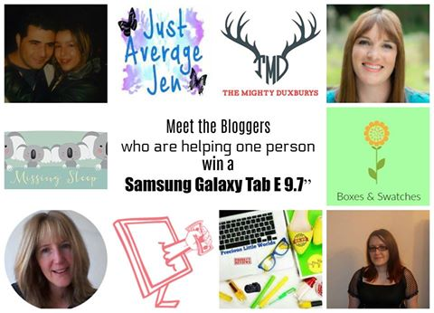 Fabulous Samsung Tablet Giveaway