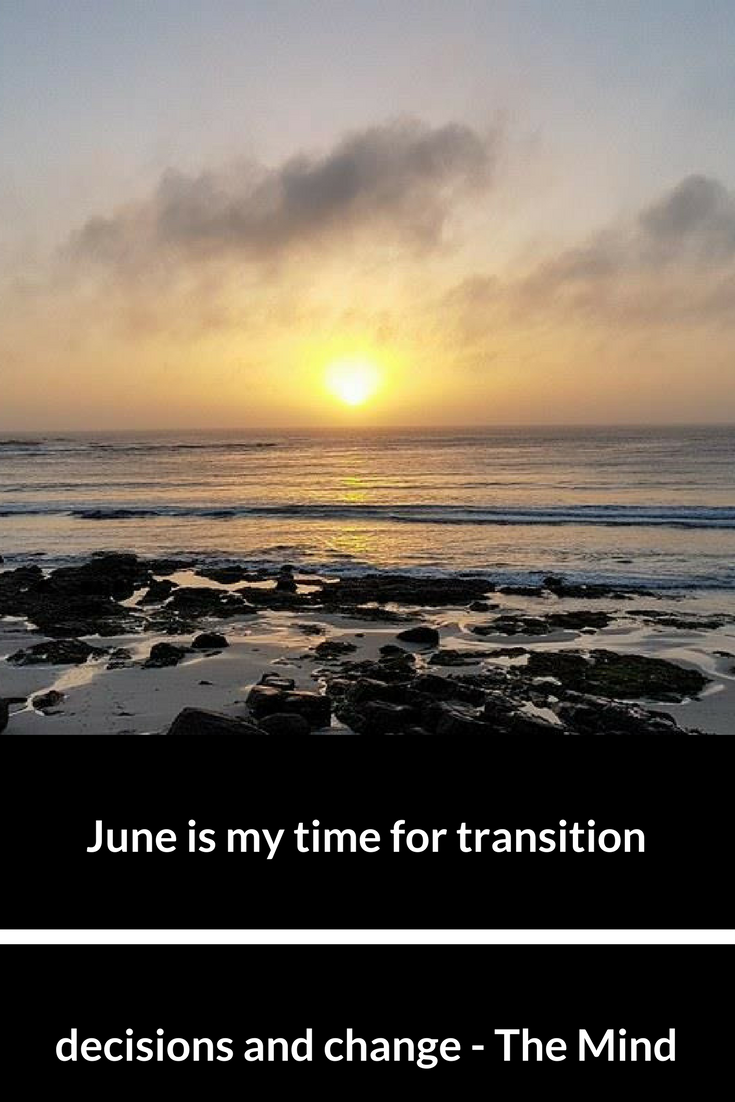 transition, decisions and change