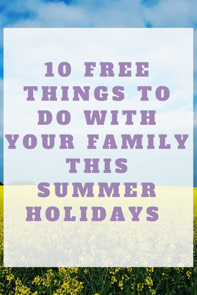 free things to do with your family