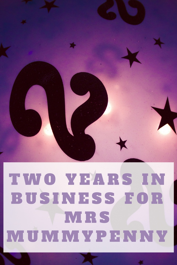 two years in business