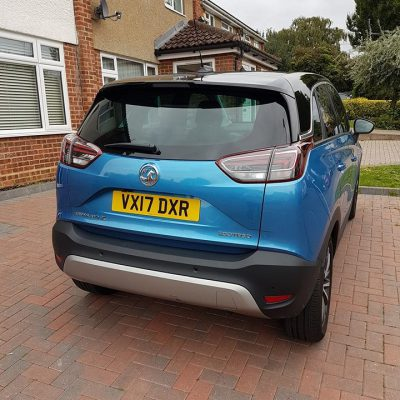 Review of Vauxhall CrosslandX a new family car