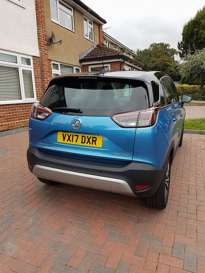 Review of Vauxhall Crossland X