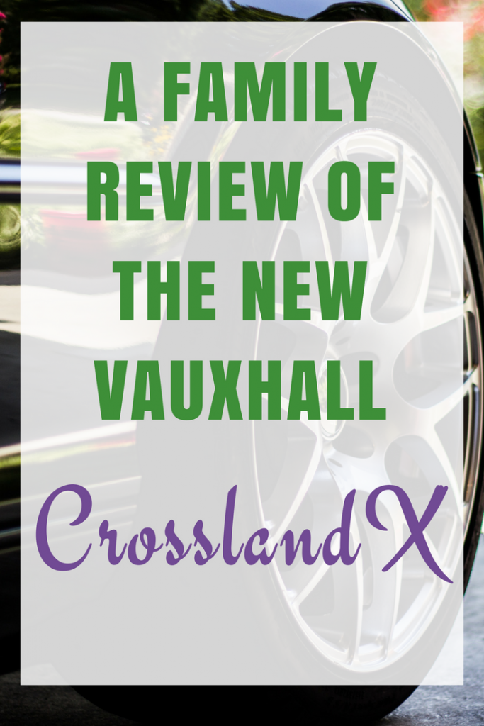 Review of Vauxhall CrosslandX - A new family car