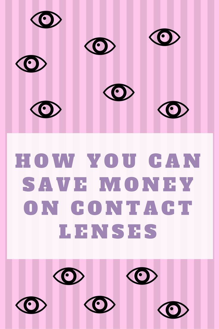 save money on contact lenses