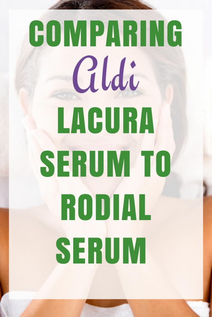 How Does a £7.99 Aldi Lacura Serum compare to a £190 Rodial Serum?