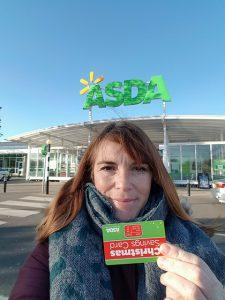 It's the Asda Christmas Savings Card Bonus Day