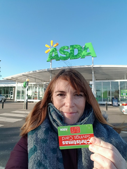 asda christmas savings card