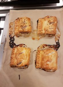 5 Frugal things post 54 – Sausage Rolls and Cross Stitch
