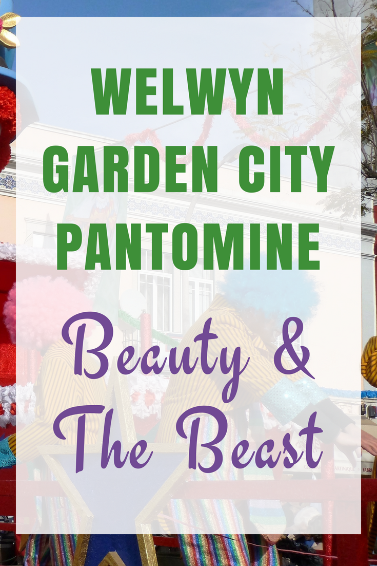 Beauty and The Beast Pantomime at Welwyn Garden City Hawthorne Theatre