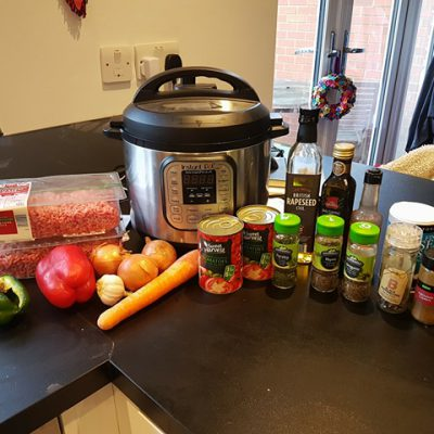Pressure Cooker Bolognese – A great tasting and value for money recipe