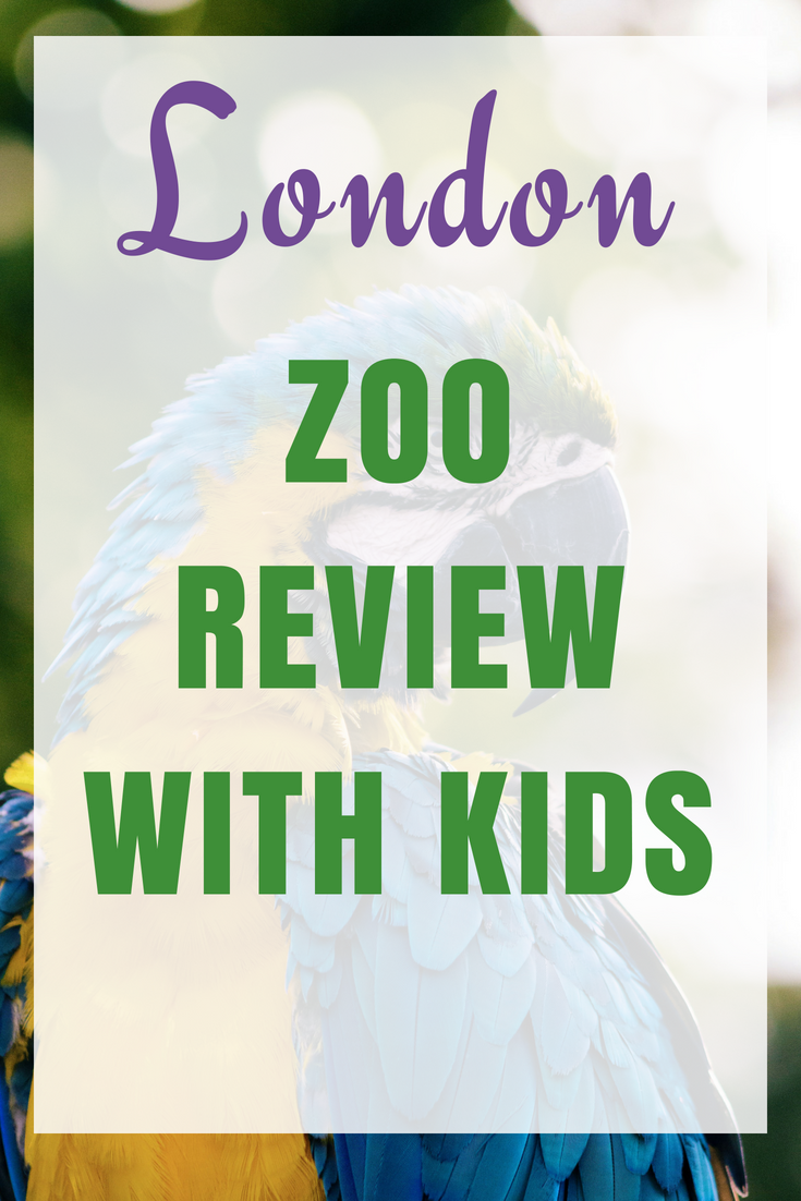 A day out at London Zoo with the children