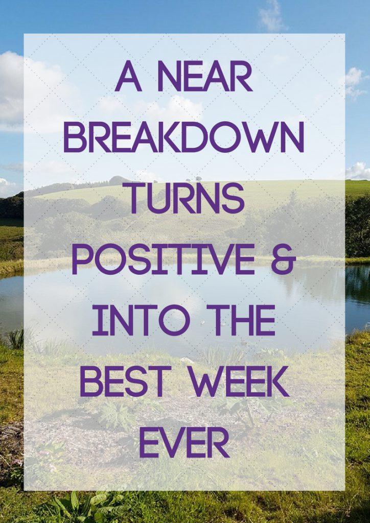 near breakdown turns positive